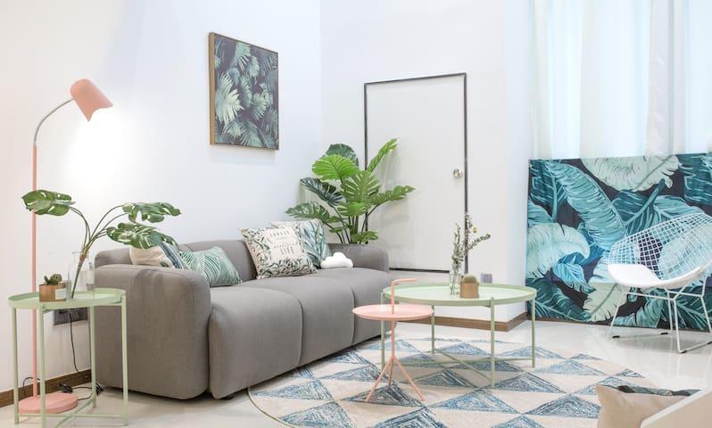 房间设计为北欧ins风格,家里的每一样物件都是…              卧室1图片