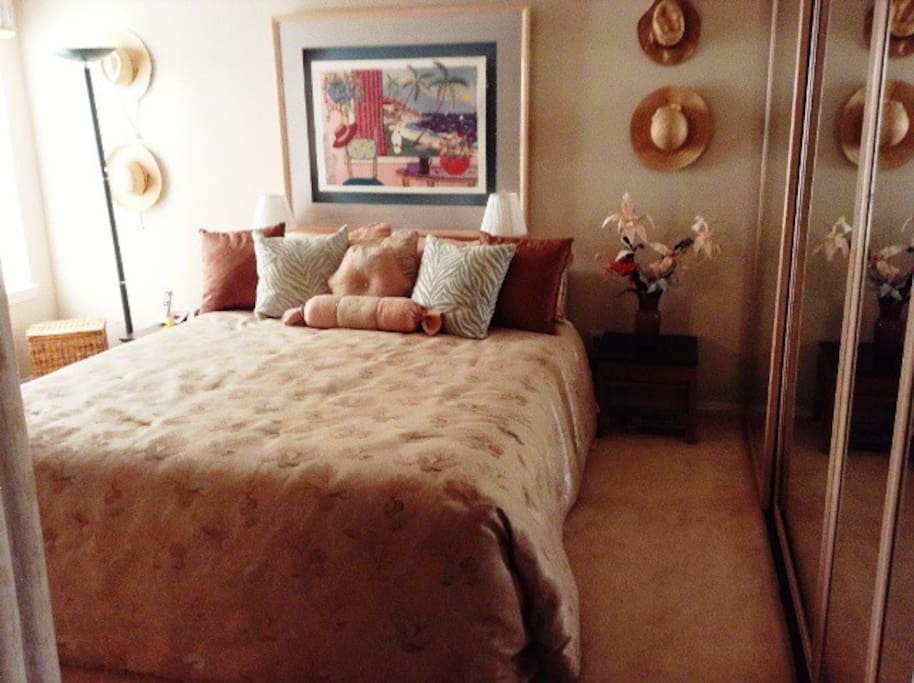 Another Master Bedroom, private bathroom, King Bed
