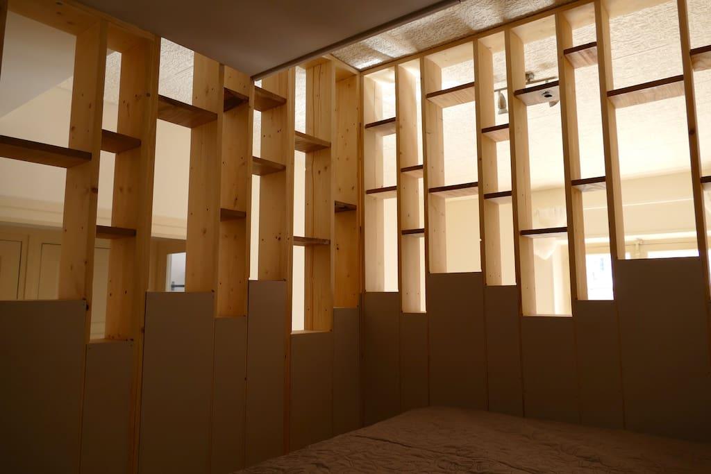 Vue de l'intérieur de la Mezzanine